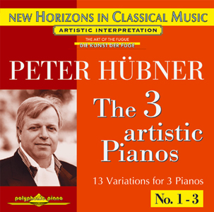 Peter Hübner - Solo Concerts - The 3 Artistic Pianos - Var. 1 – 3