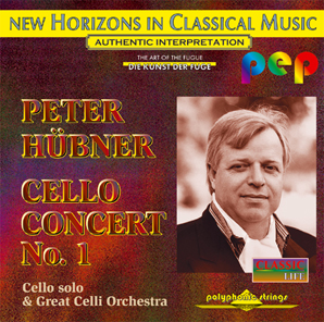 Peter Hübner - Solo Concerts - Cello Concert - No.1