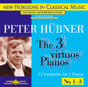 Peter Hübner - Solo Concerts - The 3 Virtuos Pianos - Var. 1 – 3