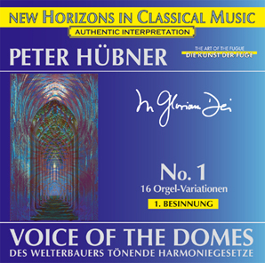 Peter Hübner - Organ Works - Voice of the Domes - 1st Meditation