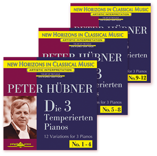 Peter Hübner - The 3 Temp. Pianos