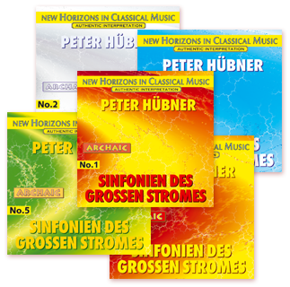 Peter Hübner - Symphonies of the Great Stream