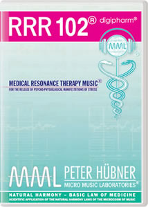 Peter H&uuml;bner - Medical Resonance Therapy Music<sup>&#174;</sup> - RRR 102