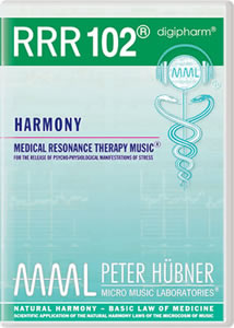 Peter H&uuml;bner - Medical Resonance Therapy Music<sup>&#174;</sup> - RRR 102 Harmony