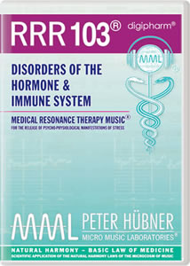 Peter Hübner - Medical Resonance Therapy Music® - Hormone & Immune System - RRR 103