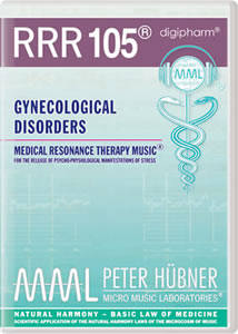 Peter Hübner - Medical Resonance Therapy Music<sup>®</sup> - RRR 105 Gynecological Disorders