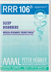 Peter Hübner - Medical Resonance Therapy Music® - Sleep Disorders - RRR 106