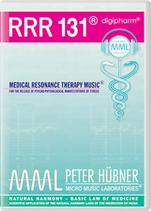 Peter H&uuml;bner - Medical Resonance Therapy Music<sup>&#174;</sup> - RRR 131