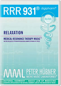 Peter Hübner - Medical Resonance Therapy Music® - Relaxation - RRR 931