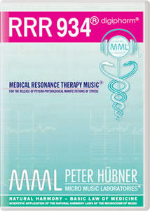 Peter H&uuml;bner - Medical Resonance Therapy Music<sup>&#174;</sup> - RRR 934