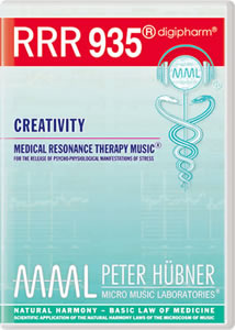 Peter H&uuml;bner - Medical Resonance Therapy Music<sup>&#174;</sup> - RRR 935 Creativity