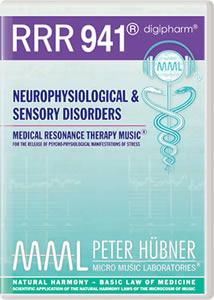 Peter Hübner - Medical Resonance Therapy Music® - Neurophysiological & Sensory Disorders - RRR 941