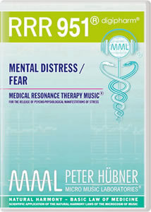 Peter Hübner - Medical Resonance Therapy Music® - Mental Distress / Fear - RRR 951