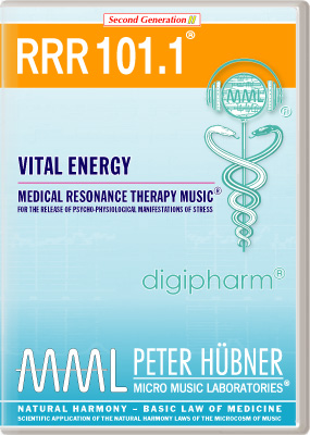 Peter Hübner - Medical Resonance Therapy Music<sup>®</sup> - RRR 101 Vital Energy • Nr. 1
