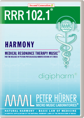 Peter Hübner - Medical Resonance Therapy Music<sup>®</sup> - RRR 102 Harmony • Nr. 1