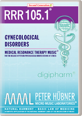 Peter H&uuml;bner - Medical Resonance Therapy Music<sup>&#174;</sup> - RRR 105 Gynecological Disorders &#8226; Nr.&nbsp;1