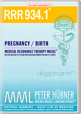 Peter Hübner - Medical Resonance Therapy Music<sup>®</sup> - RRR 934 Pregnancy & Birth • Nr. 1
