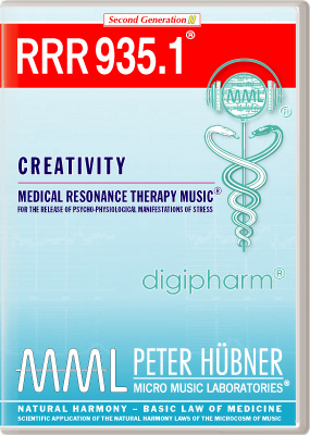 Peter Hübner - Medical Resonance Therapy Music<sup>®</sup> - RRR 935 Creativity • No. 1