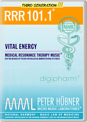 Peter H&uuml;bner - Medical Resonance Therapy Music<sup>&#174;</sup> - RRR 101 Vital Energy &#8226; No.&nbsp;1