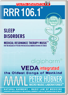Peter Hübner - Medical Resonance Therapy Music<sup>®</sup> - RRR 106 Sleep Disorders • No. 1
