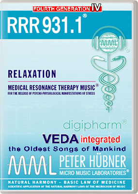 Peter Hübner - Medical Resonance Therapy Music<sup>®</sup> - RRR 931 Relaxation No. 1