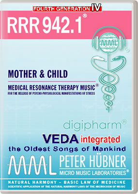 Peter H&uuml;bner - Medical Resonance Therapy Music<sup>&#174;</sup> - RRR 942 Mother &amp; Child &#8226; No.&nbsp;1