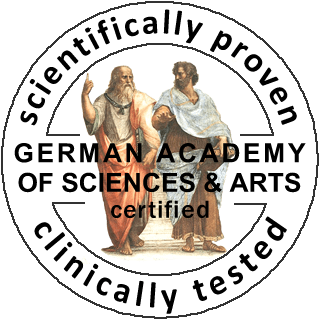certified by the German Academy of Sciences & Arts